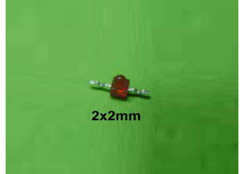 SMD LED RED 2mm