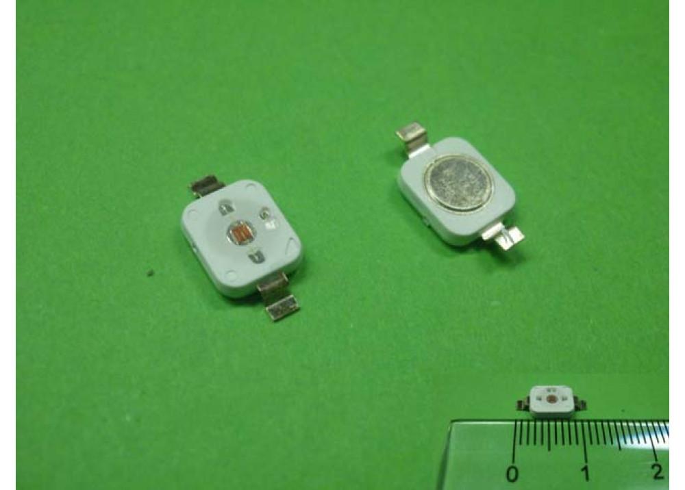 SMD LED RED 3.4V 1.5W