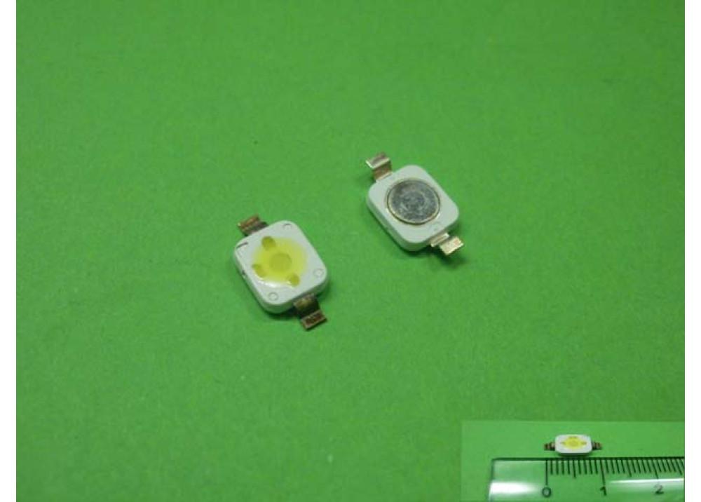 SMD LED WHITE 3.4V 1.5W