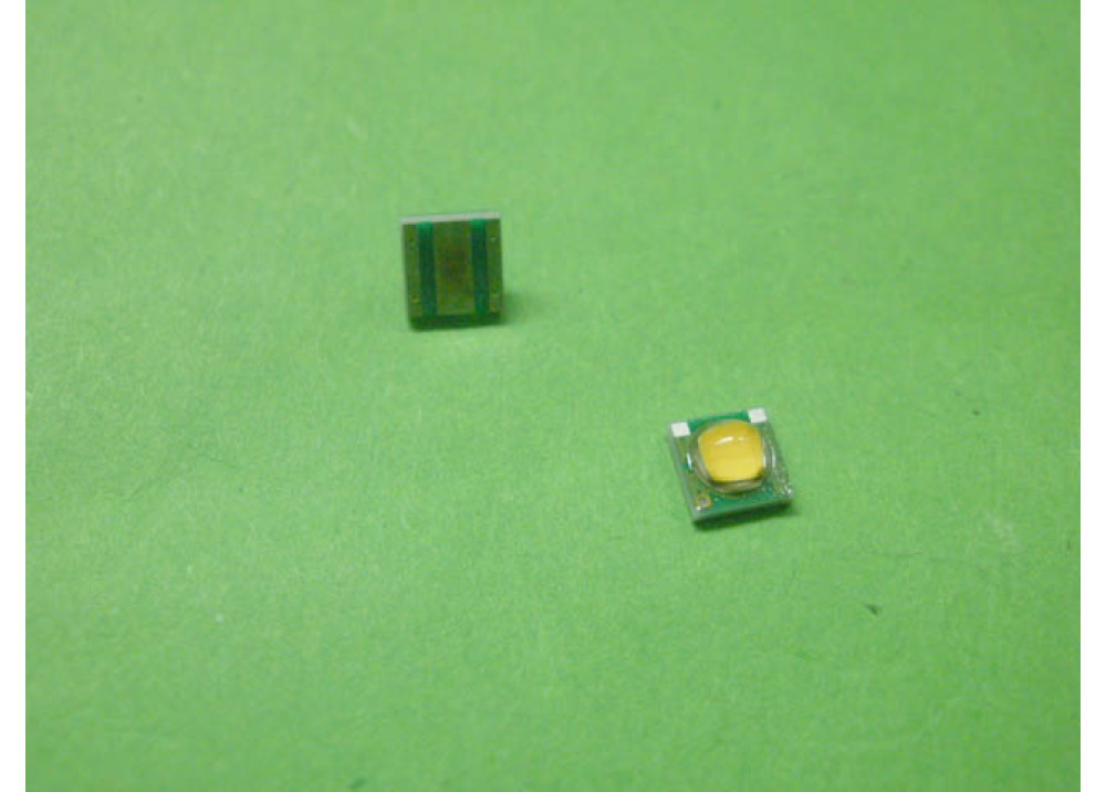 SMD LED Warm White 35x35mm 3.2V 0.325W