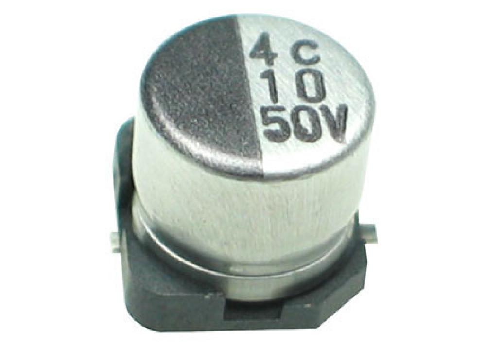 SMD CELEC 10uF 50V 7mmX5mm