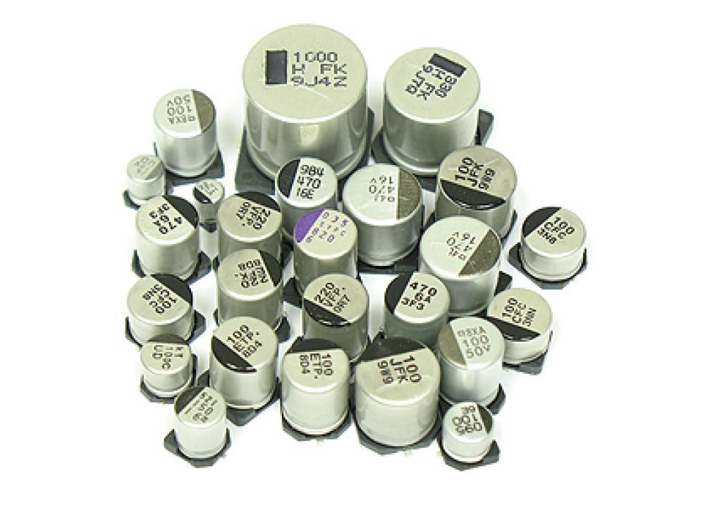SMD CELC 100uF 6.3V 6.5mmX6mm