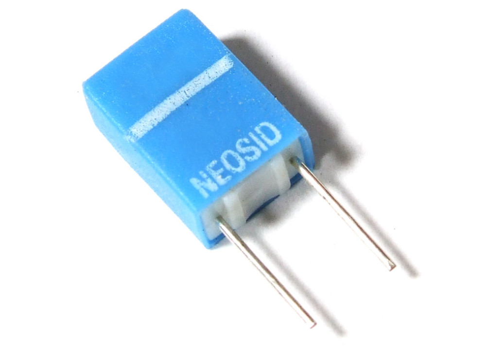 Radial Inductor Type Sd75 by Neosid 1.5uH