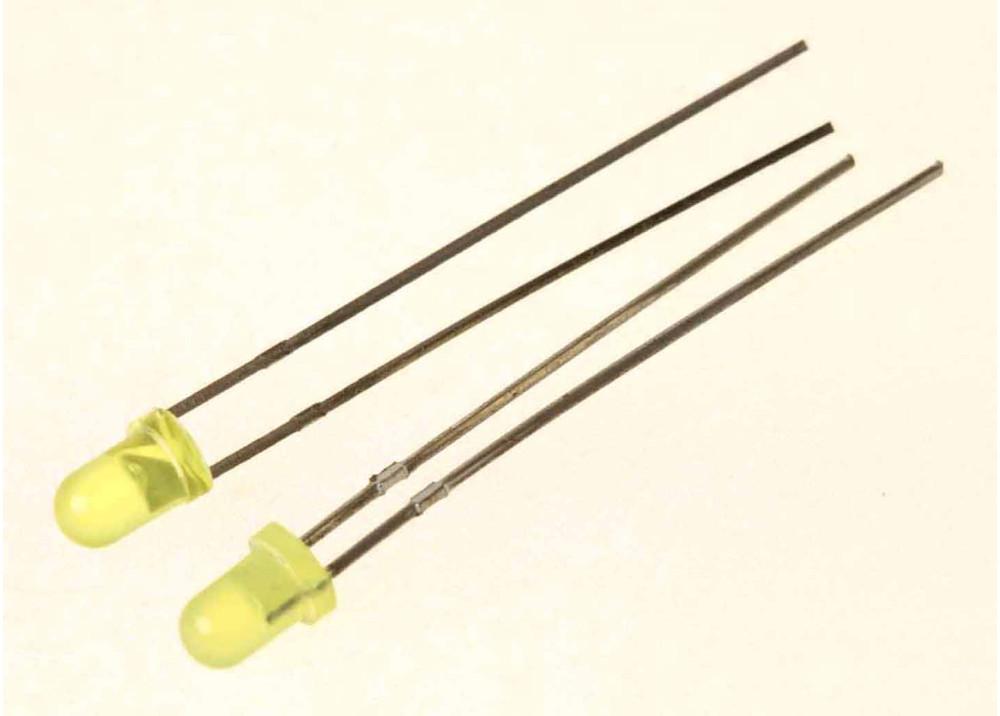 LED YELLOW STANARD 3mm