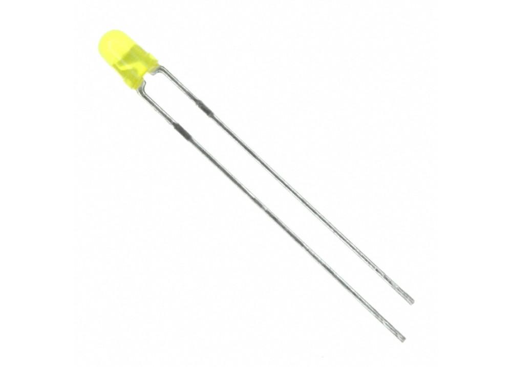 LED Yellow 3mm TY-30UY2TD20-880