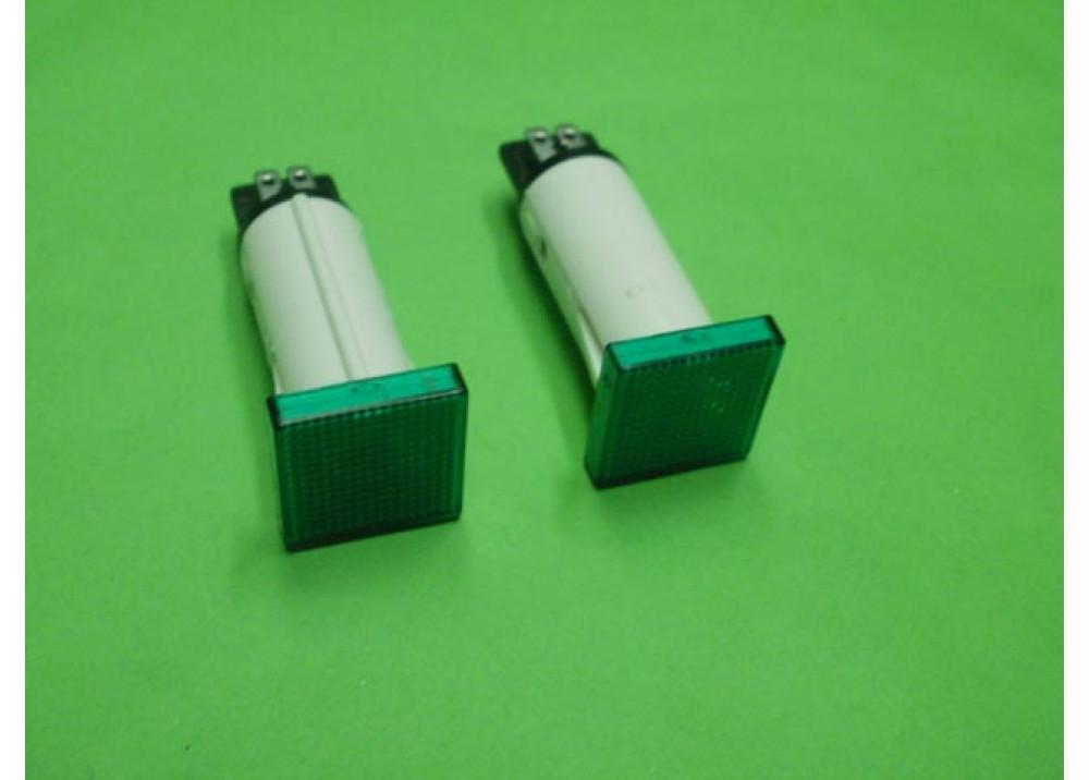 LAMP  GREEN 220V 2MA 85C