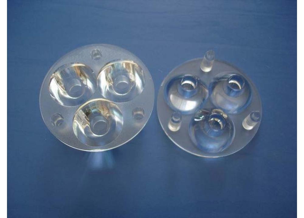 LED LENS 3X1 1~5W