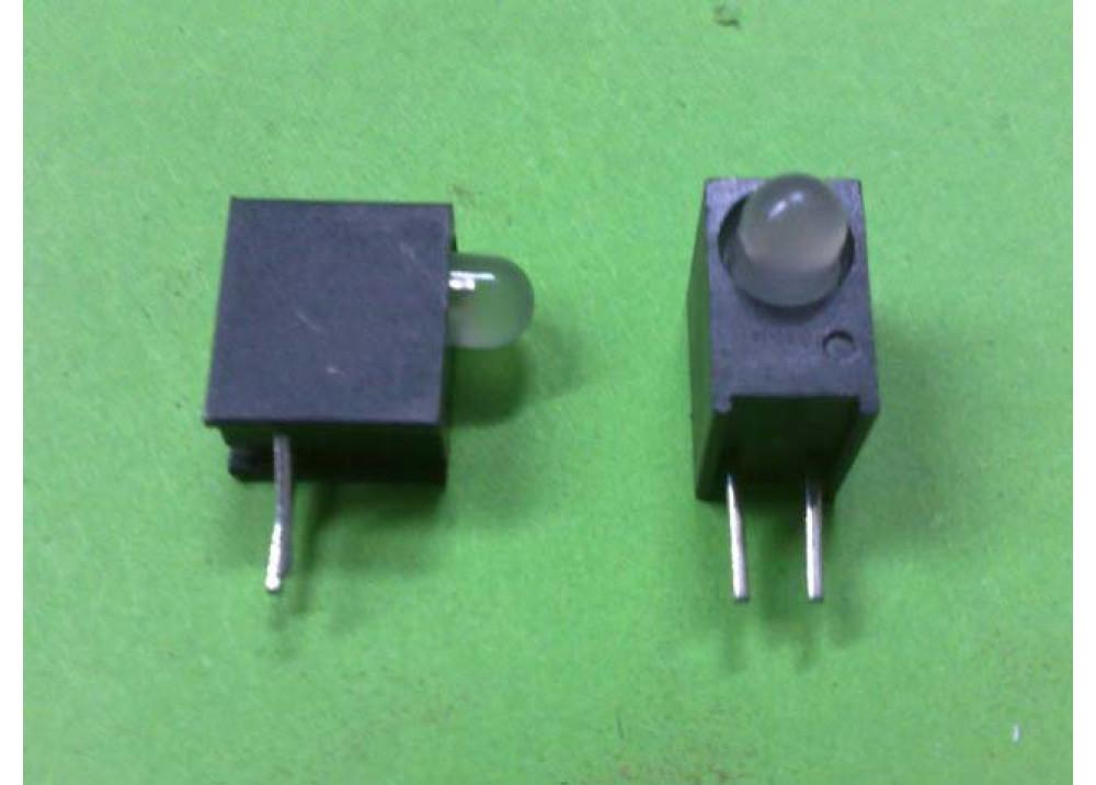 LED 3MM GREEN+ORANGx1