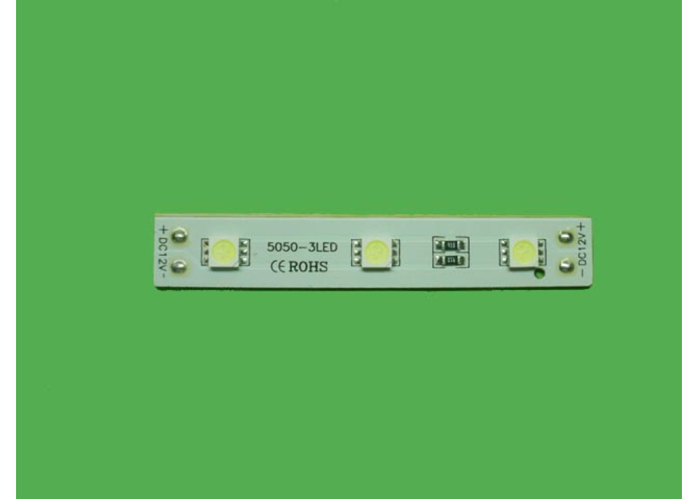 LED Module 3LEDS White White Color 16000 - 18000 MCD
