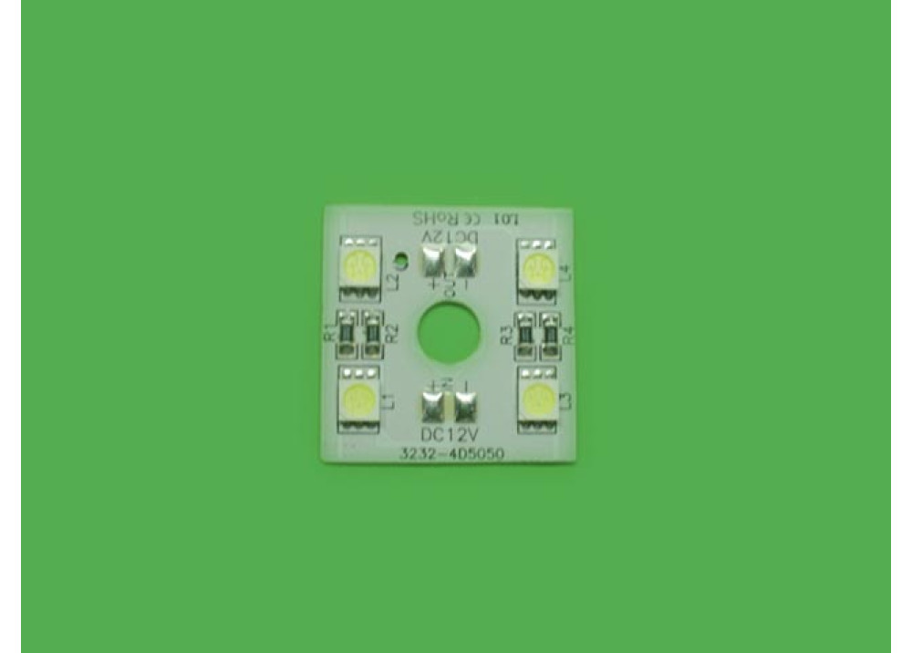 LED Module 4 LEDS White White Color 16000 - 18000 MCD