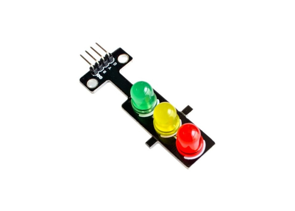 LED Traffic Light-Emitting Module for Arduino