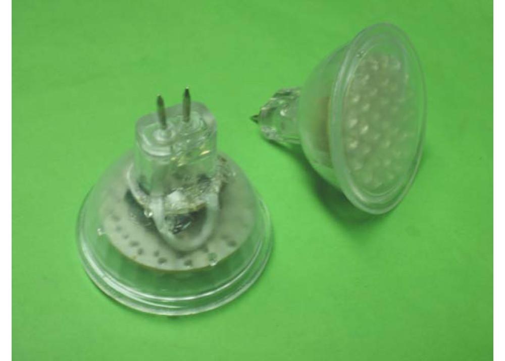 WHITE LED SPOT 36 LEDS 2W
