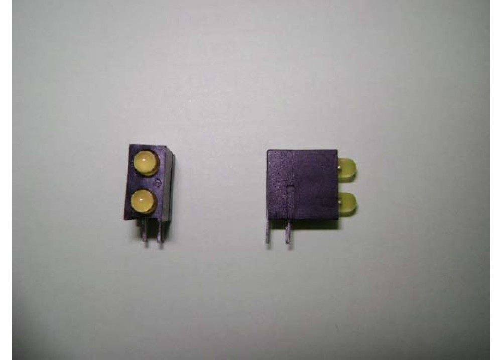 LED 3MM YELLOWx2