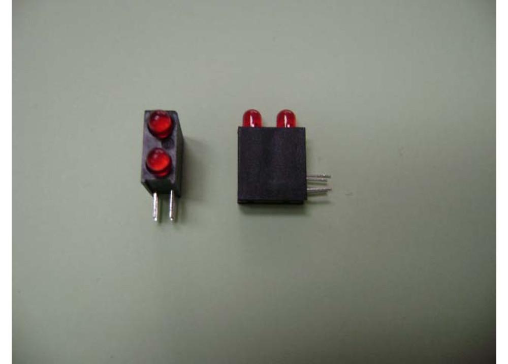 LED 3MM REDx2
