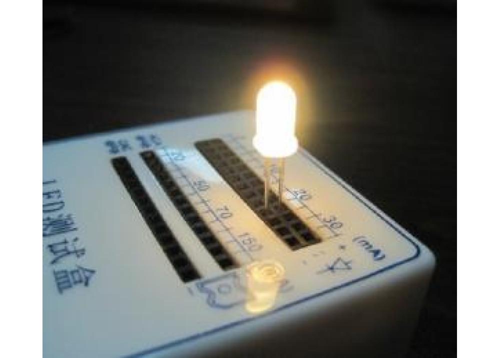 LED WHITE 5NW2SCOED 18000MCD 5mm