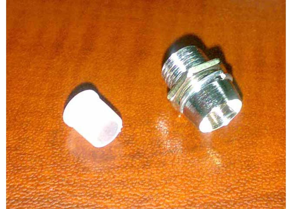 Chrome Copper Metal LED Holder 5mm