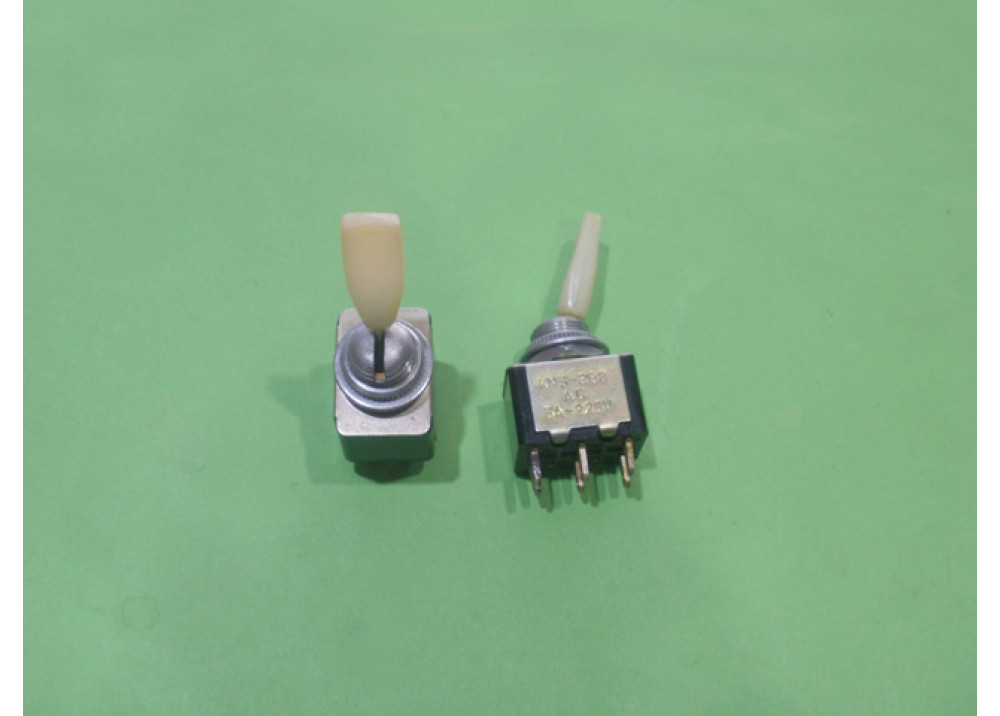 TOGGLE SW  220V 3A 6P ON OFF