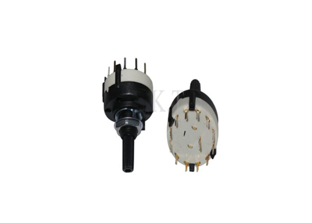 ROTARY SWITCH 12 POSTIONS 13P