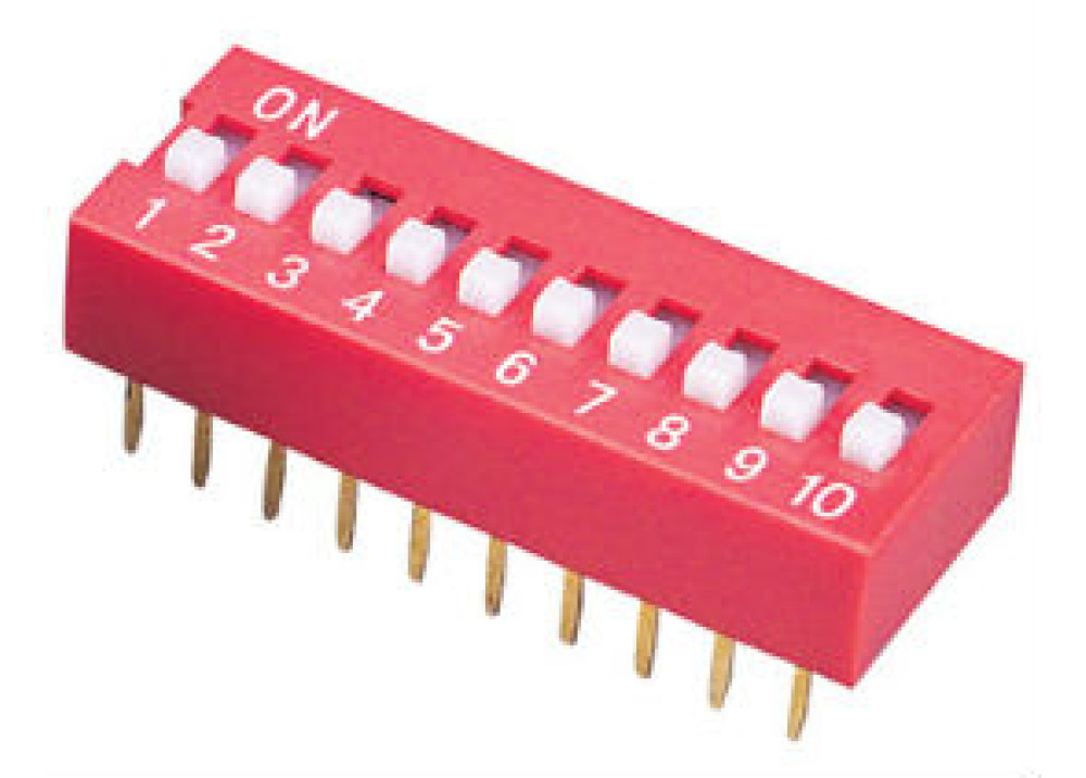 DIP- SWITCH 10P