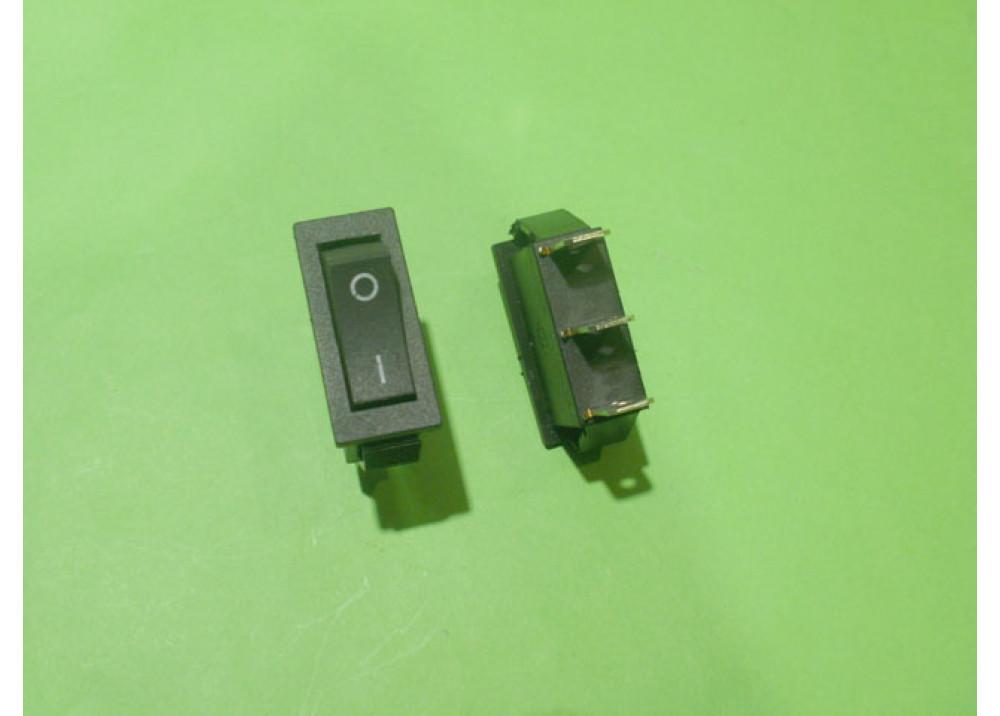 ROCKER SW  KCD3-101 16A  250V 3P