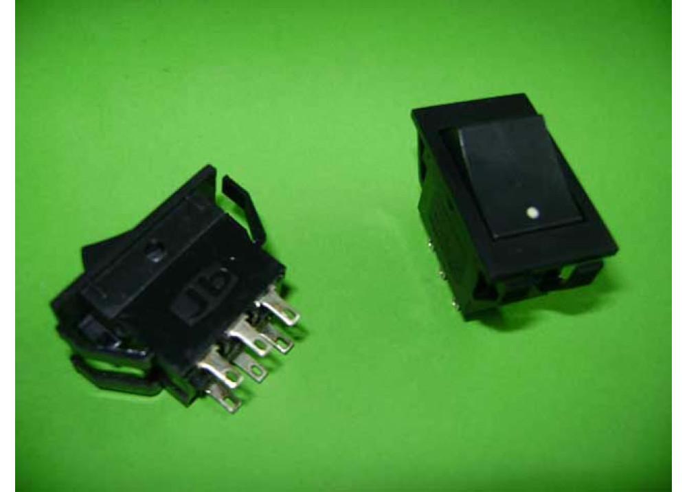 ROCKER SW 6P 5A 250V