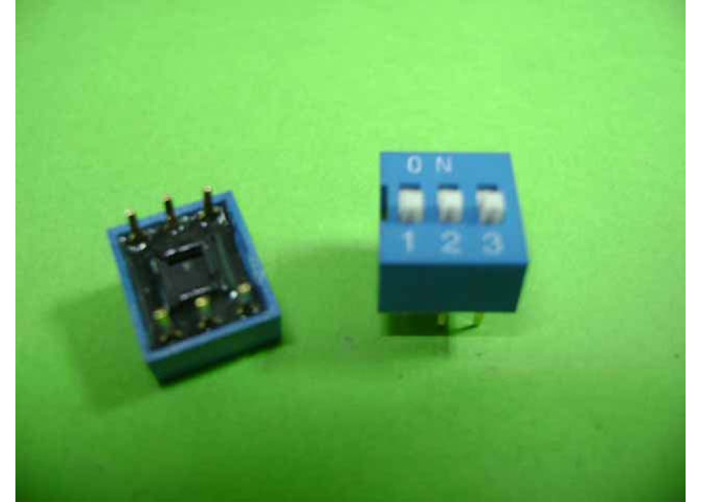 DIP- SWITCH 3P