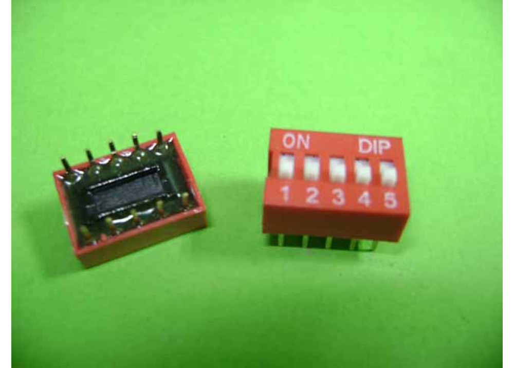 DIP- SWITCH 5P