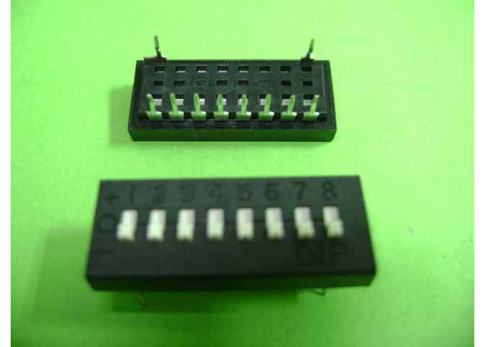 DIP- SWITCH 1-8P