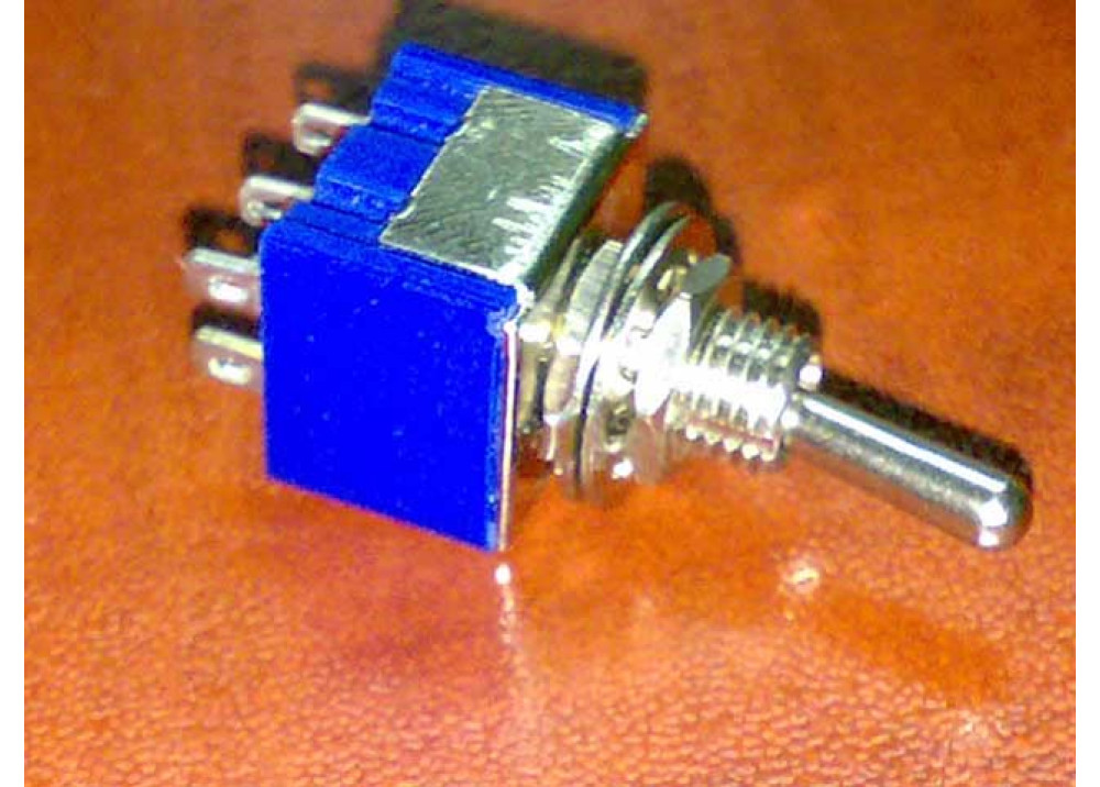 Toggle Switch DPDT 6P ON ON 3A/250VAC