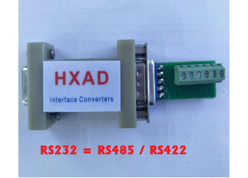 CONVERTER (HXAD) HXSP09F69 RS232 TO RS485/422
