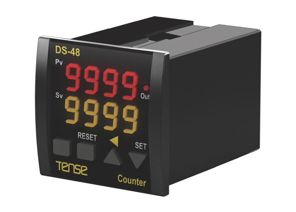 DS-48 PRESET UP/DOWN COUNTER Digital  Dual Set Counter / Counter 72x72 mm Tense