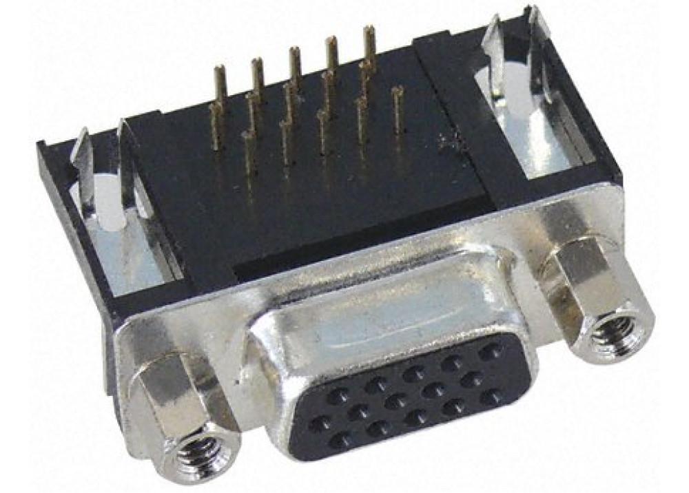 D-SUB 15P Female Right Angle Type VGA