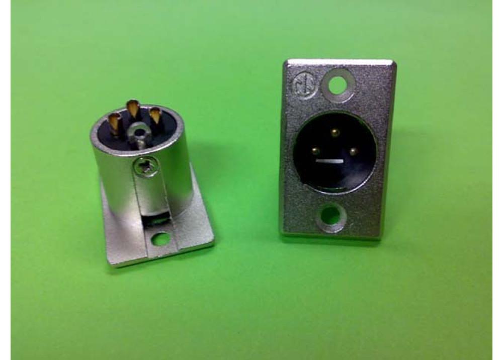 JK XLRM3P 13.17mm Wire To Wire