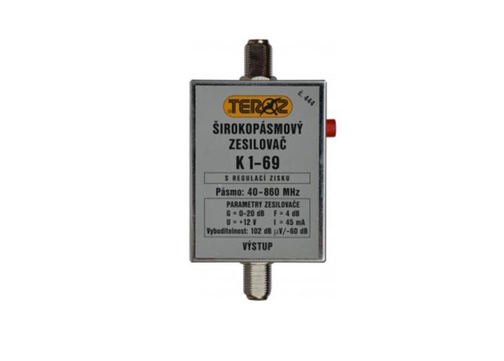 Broadband  amplifier C444
