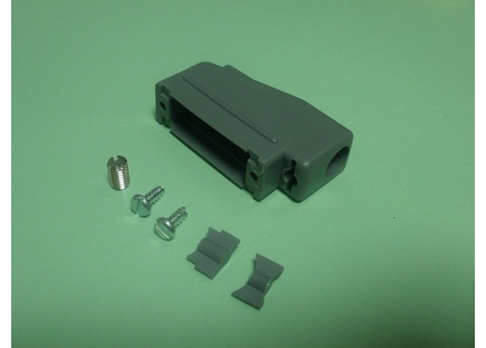 D-SUB Plastic Cover 15P Right Angle 90 degree
