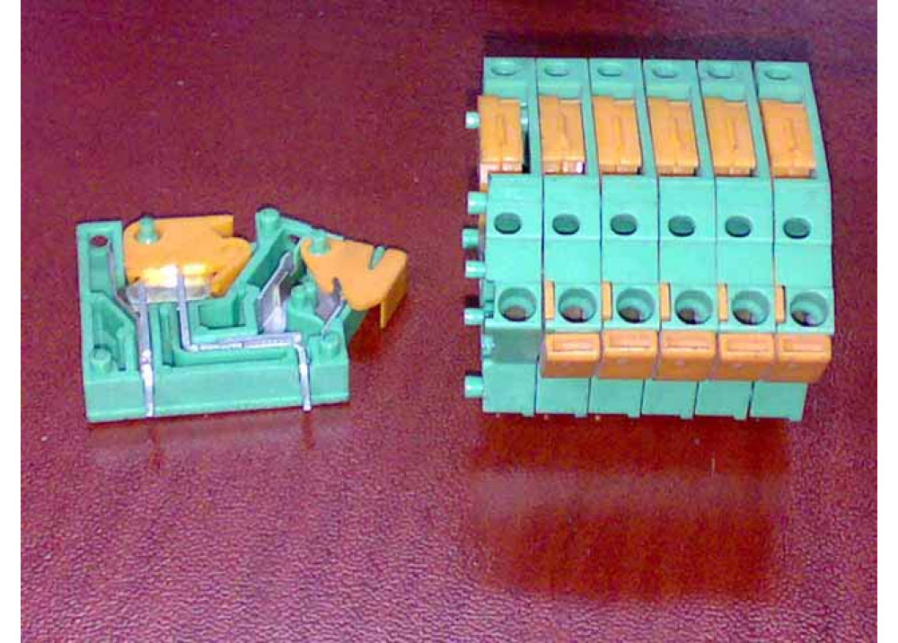 TERMINAL PCB 2S 1P