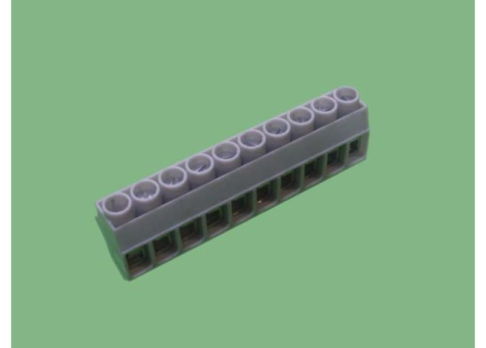Terminal block PCB R 10P 5mm