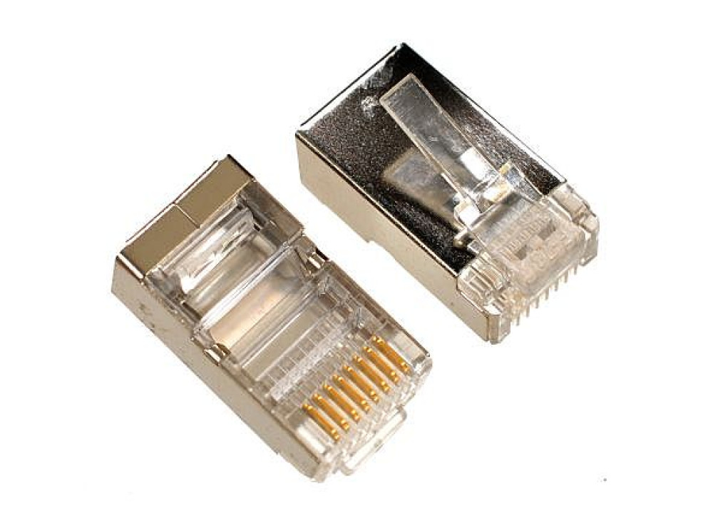 JK RJ45 Male Plug Cat6 Metal