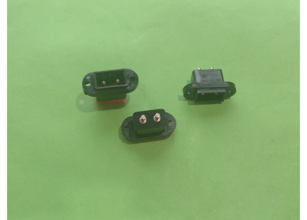 AC Power Male for panel mount ORIGINAL