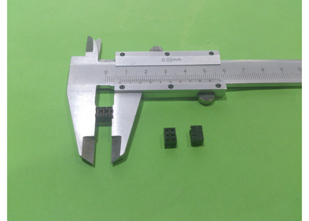 JUMPER FEM 2.54MM PITCH 3x1