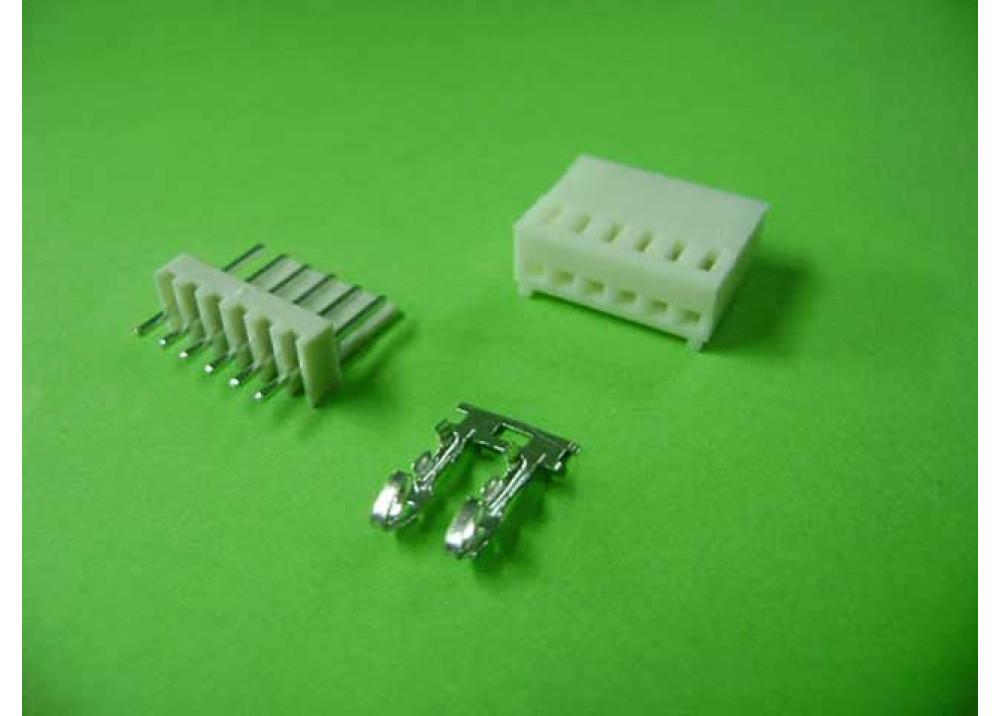 Molex 2510 Connector 2.54mm 6P Straight PCB  Wire to Board Connector