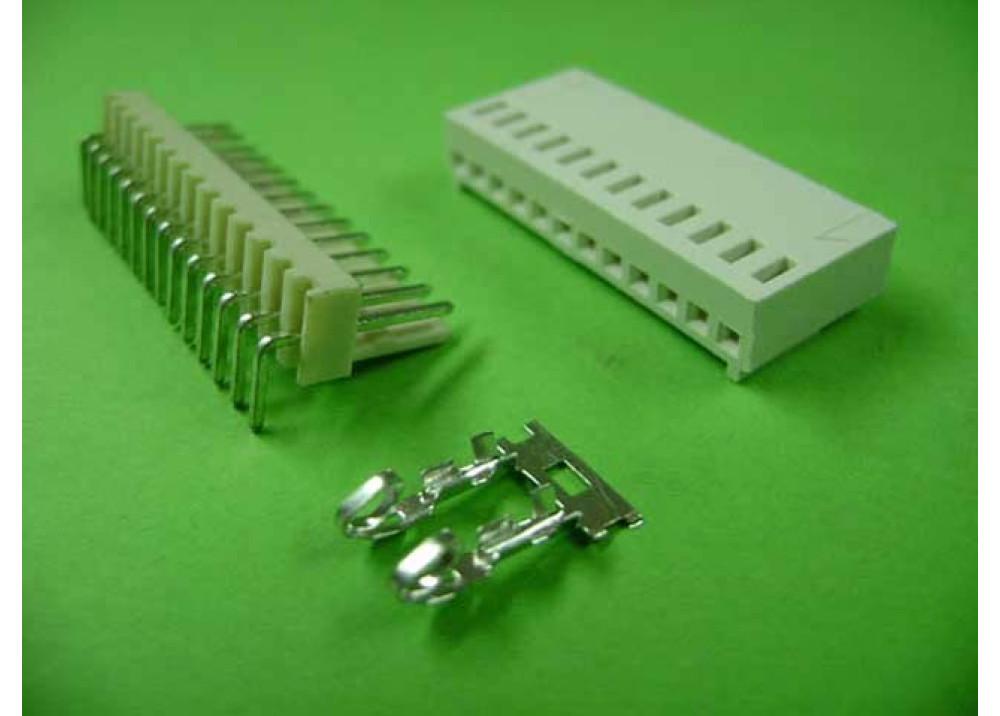 Molex 2510 Connector 2.54mm 14P Right PCB  Wire to Board Connector