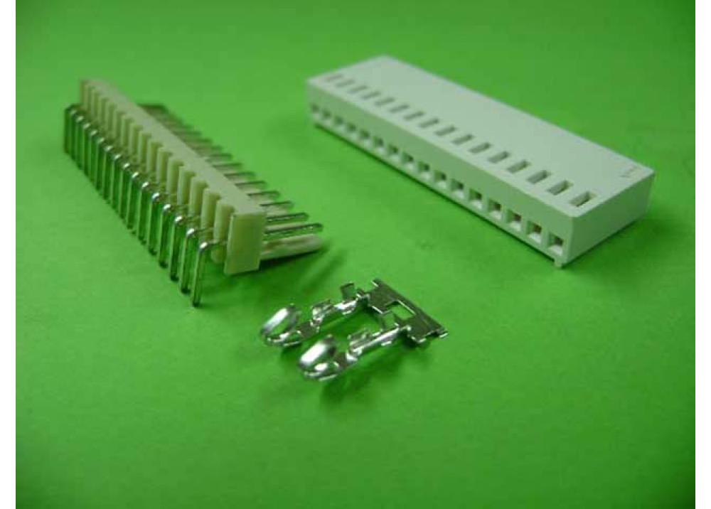 Molex 2510 Connector 2.54mm 16P Right PCB  Wire to Board Connector
