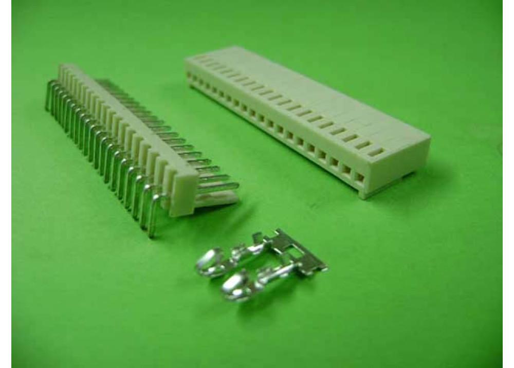 Molex 2510 Connector 2.54mm 20P Right PCB  Wire to Board Connector