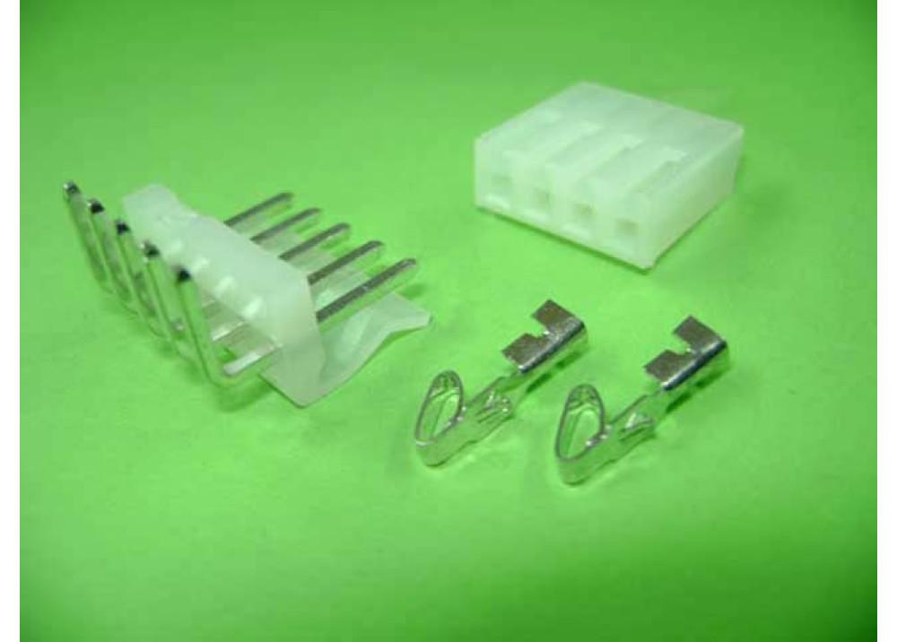 Molex 5273 Connector 3.96mm 5P Right PCB  Wire to Board Connector