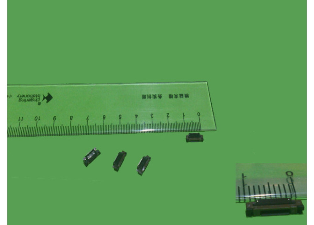 SMD Flex Cable Connector PCB Mount 9P