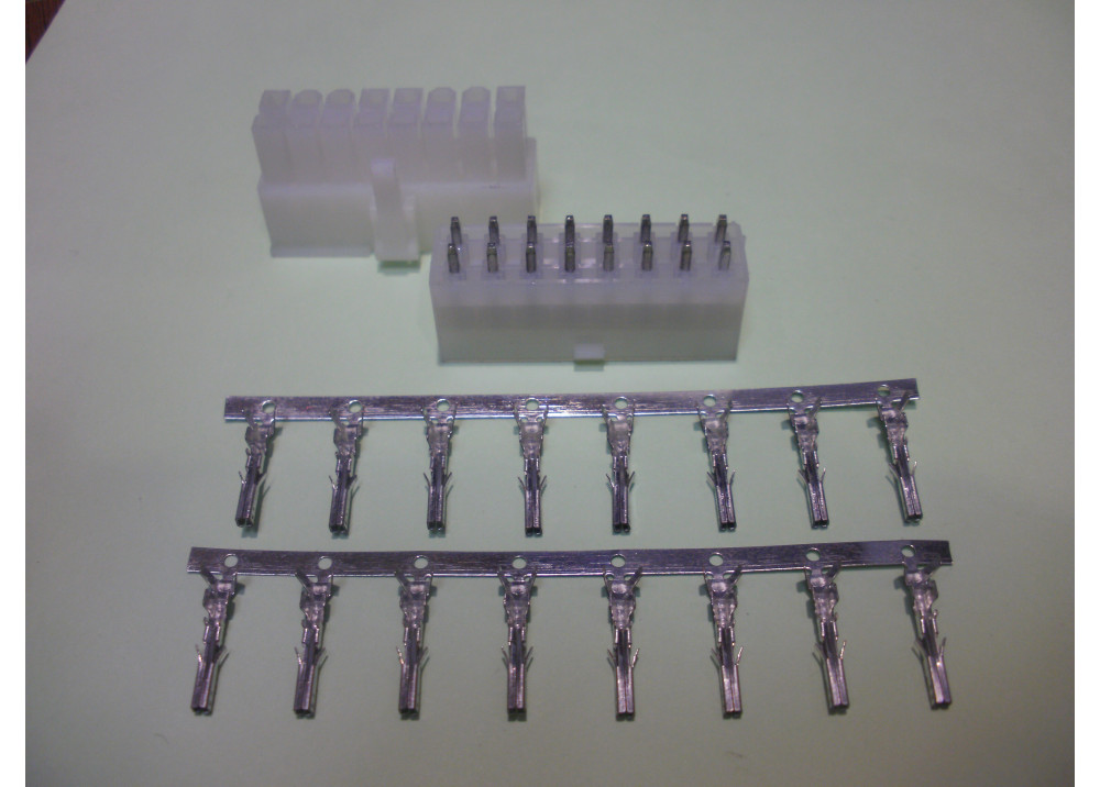 Molex ATX Power Connector Dual Row 4.2mm 16P Plug&Header