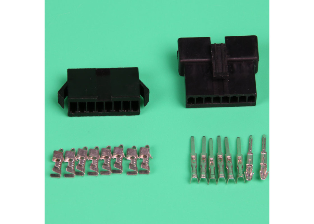 JST SM 2.5mm 8-Pin Male, Female Connector Plug