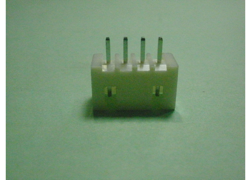 JST XH Connector  SCT2501WV-04 Header 2.54mm 4P