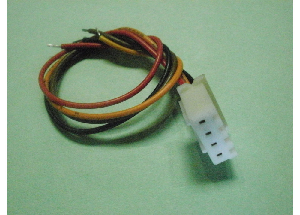 JST XH 2.54mm 4P Female Connector Plug with 10cm Wire